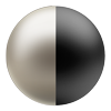 Nickel/Matte Black