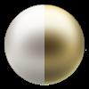 Porcelain/Classic Gold
