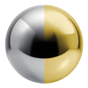 Chrome/Polished Brass