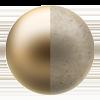 Classic Gold/Pebbled Cream
